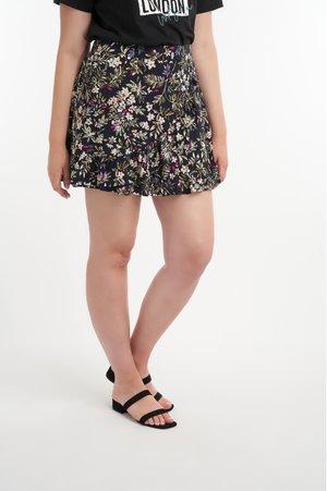 MET RUFFLES - Mini skirt - multi neutral
