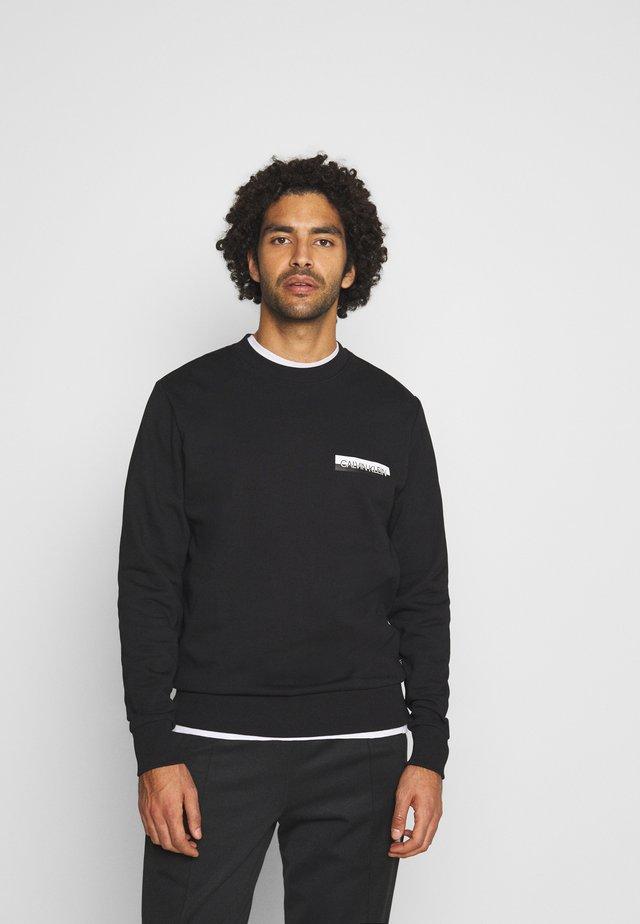 CHEST BOX LOGO - Sweatshirt - black