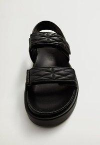 Mango - Sandals - noir - 5