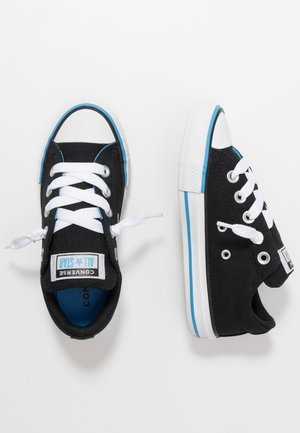 CHUCK TAYLOR ALL STAR STREET VARSITY SLIP ON - Zapatillas - black/white/coast