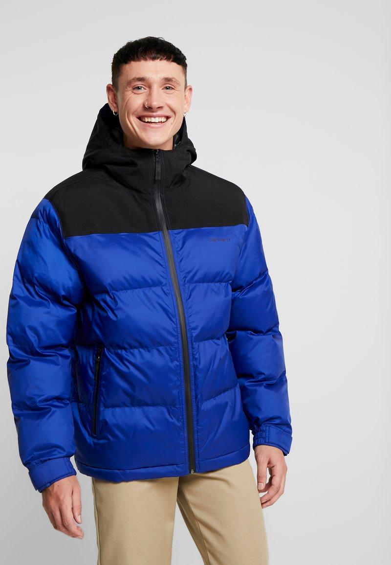 Carhartt WIP - LARSEN JACKET - Winter jacket - thunder blue/black