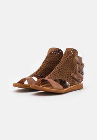 Felmini - CAROLINA  - Ankle cuff sandals - brown - 2