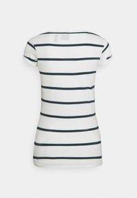 G-Star - CORE EYBEN SLIM - Basic T-shirt - milk/vintage navy - 7