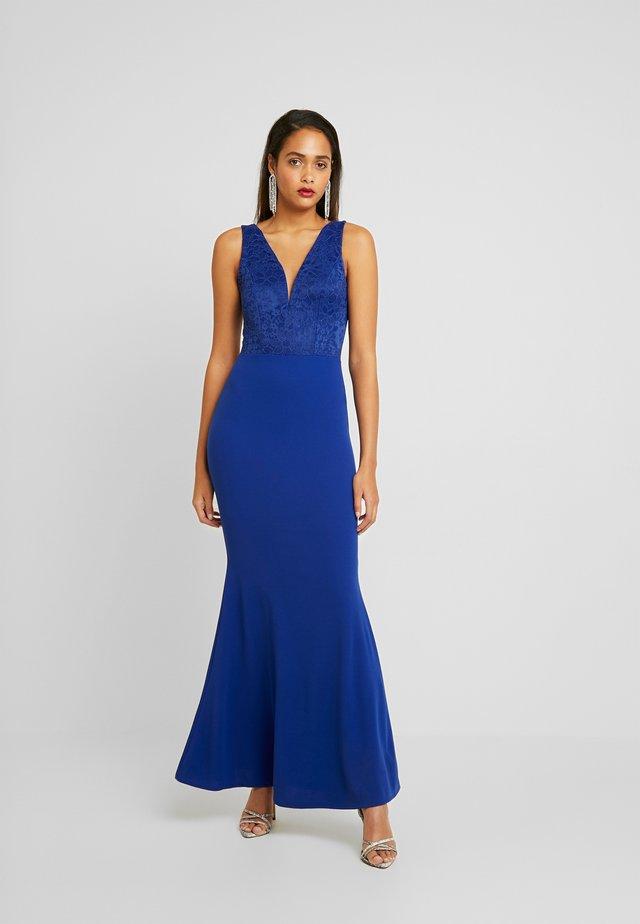 COVERED MAXI DRESS - Iltapuku - cobalt blue