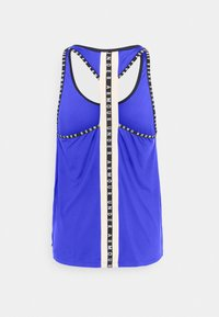 Under Armour - KNOCKOUT TANK - Sports shirt - emotion blue - 7
