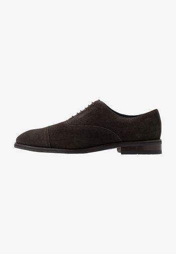 KLEITOS LACE UP - Elegantní šněrovací boty - dark brown