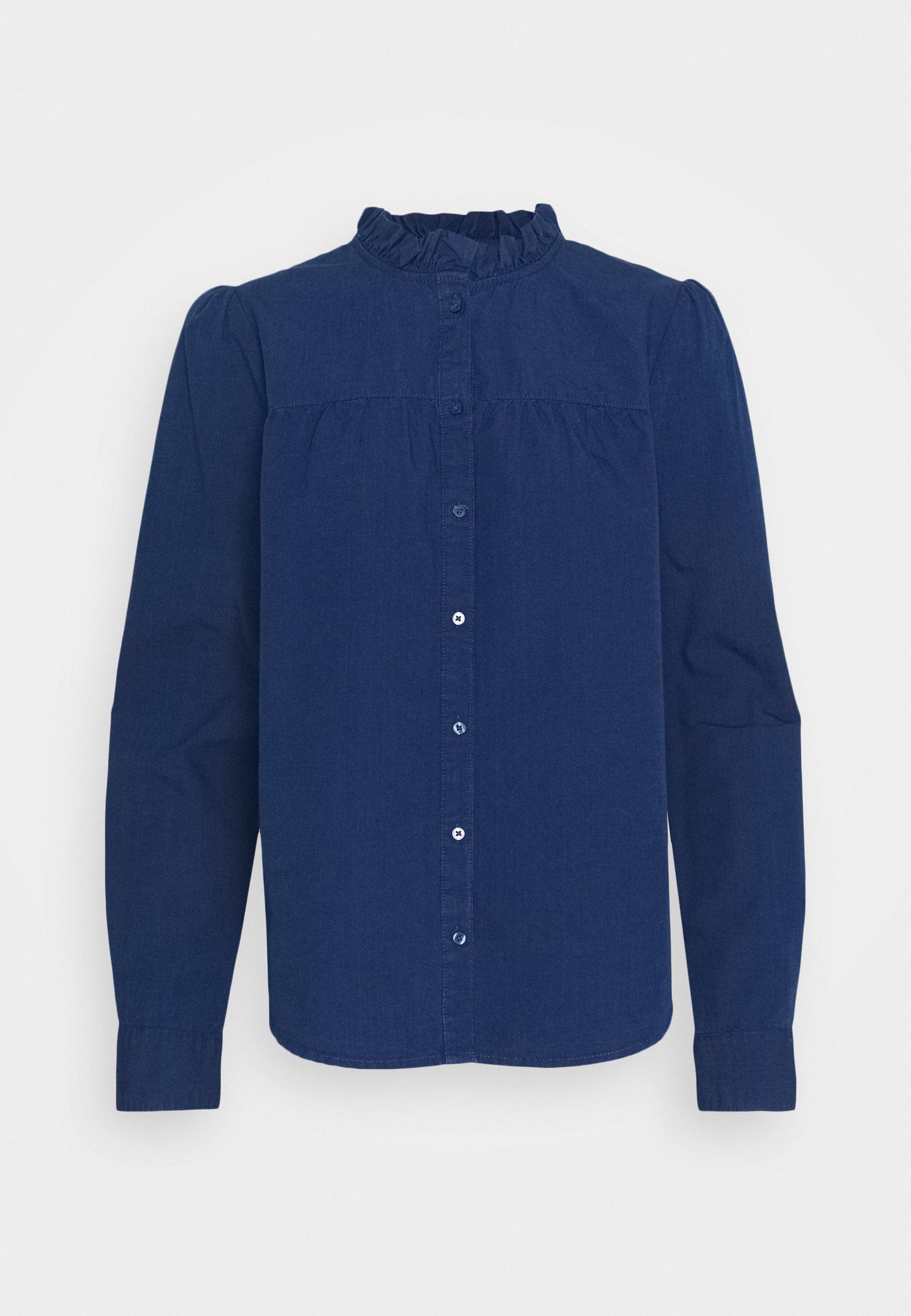 Lindex BLOUSE ULANI Bluser blueblå Zalando.no