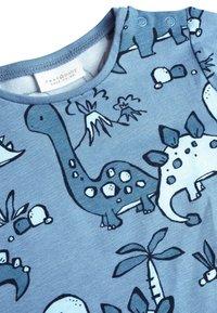 Next - BLUE 3 PACK DINOSAUR T-SHIRTS (0MTHS-3YRS) - Langærmede T-shirts - blue - 5
