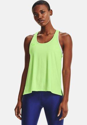 KNOCKOUT TANK - Treningsskjorter - green