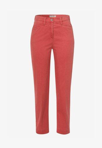 Trousers - peach