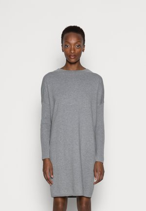 CORE DRESS - Jumper dress - medium grey