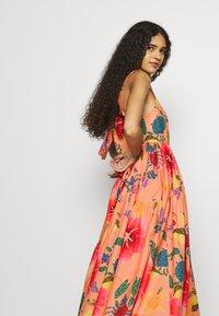 Farm Rio - FLORAL SEA MIDI DRESS - Day dress - multi coloured - 4