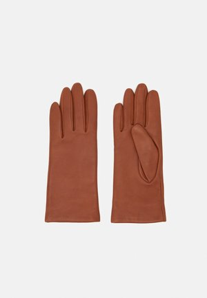 Gloves - saddle brown