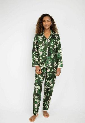 MARILYN LEAF - Pyjama set - green leaf print