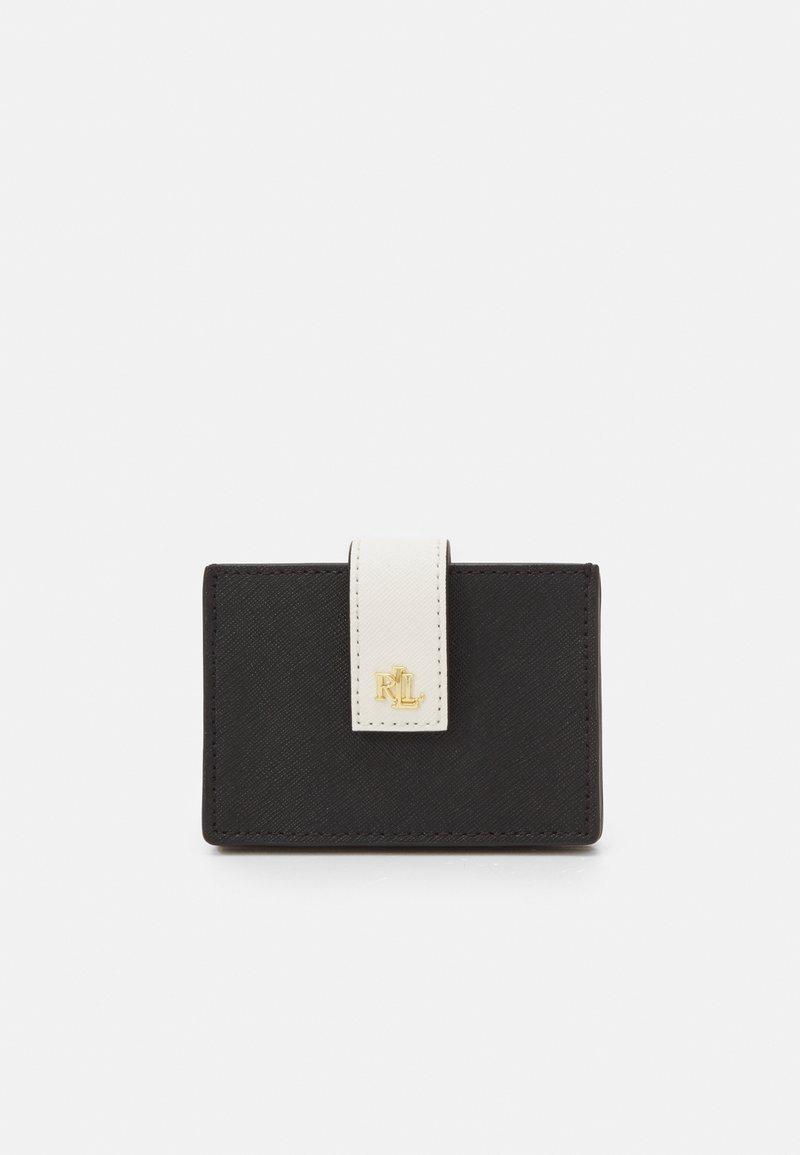 Lauren Ralph Lauren - CROSSHATCH - Wallet - black/antique