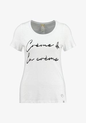 CREAM - Print T-shirt - weiss