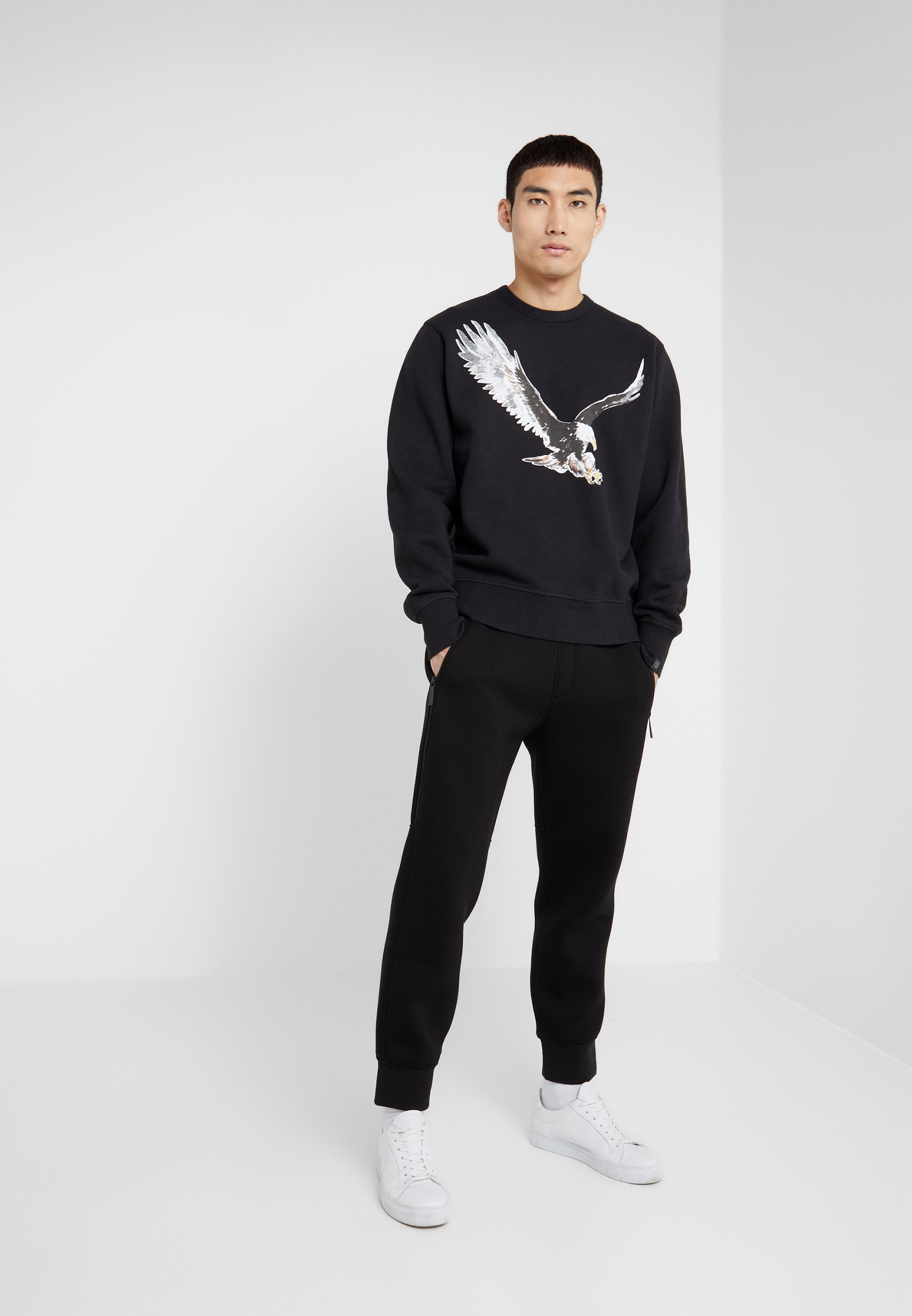 rag & bone EAGLE Sweater blackZwart Zalando.nl
