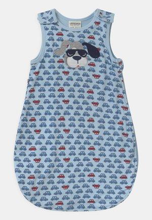 HAPPY CAR FRIENDS - Baby's sleeping bag - light blue