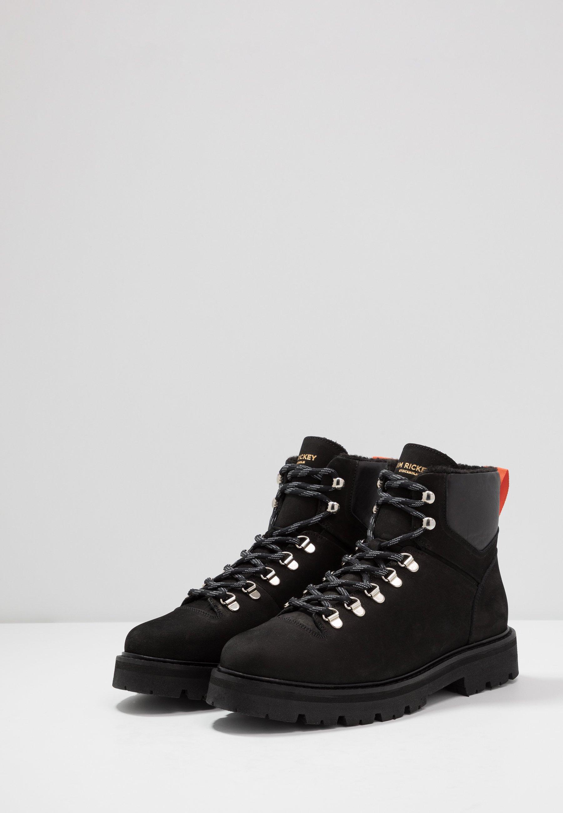Shop For Cheapest Jim Rickey CLOUD HIKING BOOT - Lace-up ankle boots - black | men's shoes 2020 uZFjr