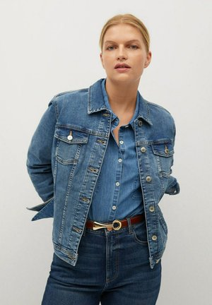 Denim jacket - bleu moyen