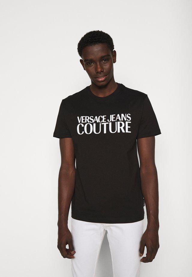 LOGO - T-shirt print - black