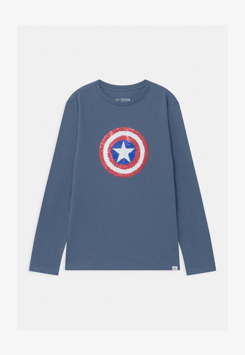 GAP - BOYS CREW  - Long sleeved top - bainbridge blue