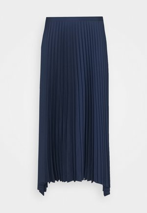 PLEAT SPRING - Maxi skirt - sailor