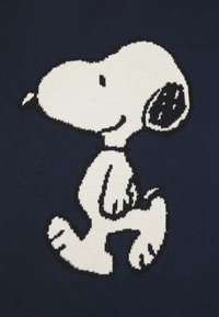 Dedicated - KNITTED SWEATER ARENDAL SNOOPY NAVY - Pullover - navy - 4