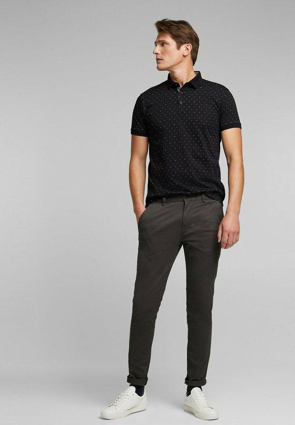 Esprit Koszulka polo - black/czarny Odzież Męska XTXY