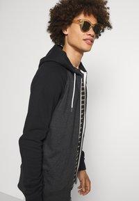 Quiksilver - EVERYDAY ZIP - Zip-up sweatshirt - dark grey heather - 3