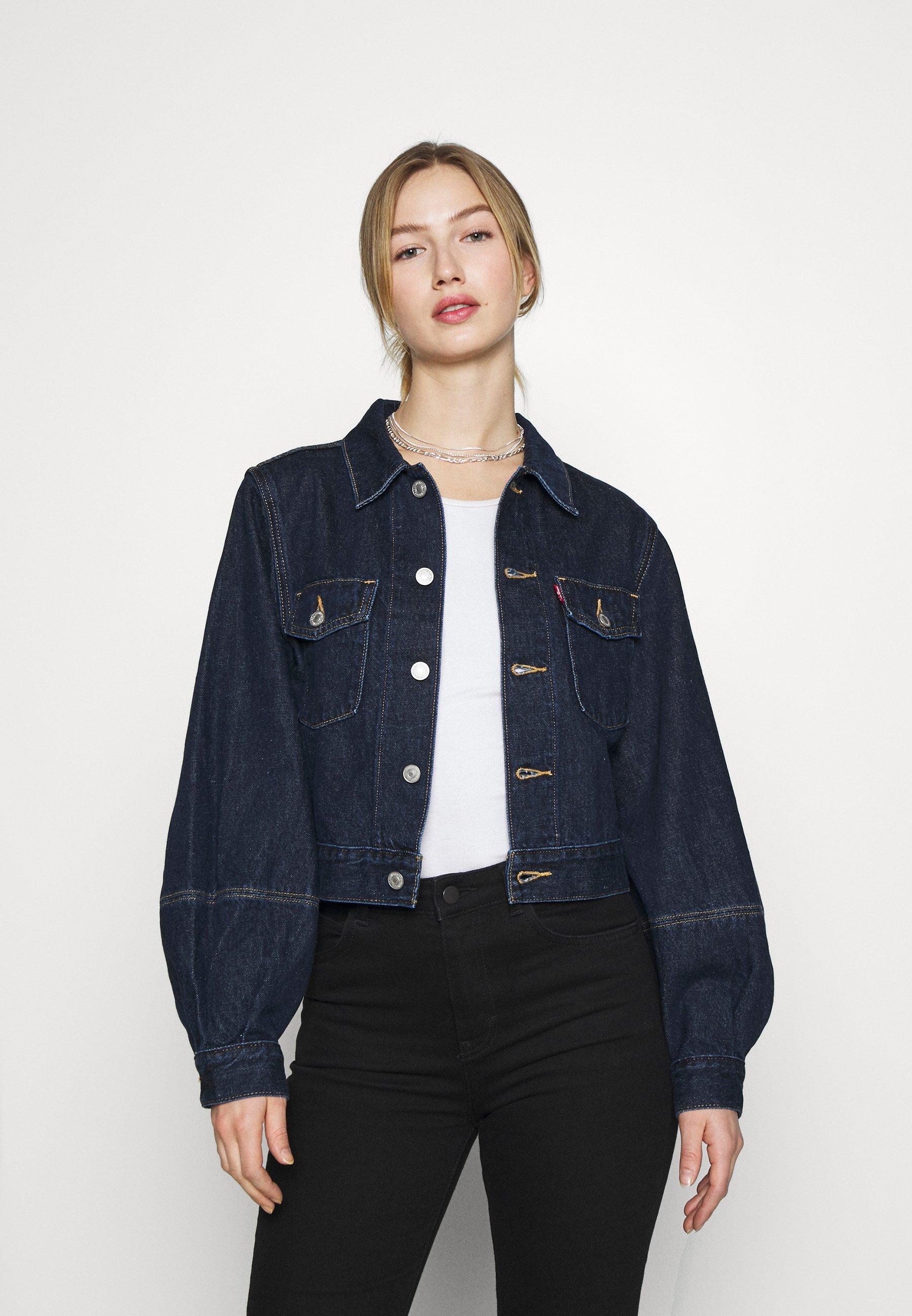 Women TAILORED TRUCKER - Denim jacket