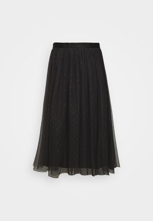 KISSES MIDI SKIRT EXCLUSIVE - Gonna a campana - graphite