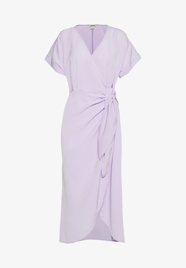 ENLIE WRAP DRESS - Hverdagskjoler - lilac