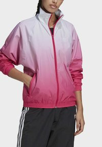 adidas Originals - ADICOLOR 3D TREFOIL TRACK TOP - Veste de survêtement - blue, pink - 2