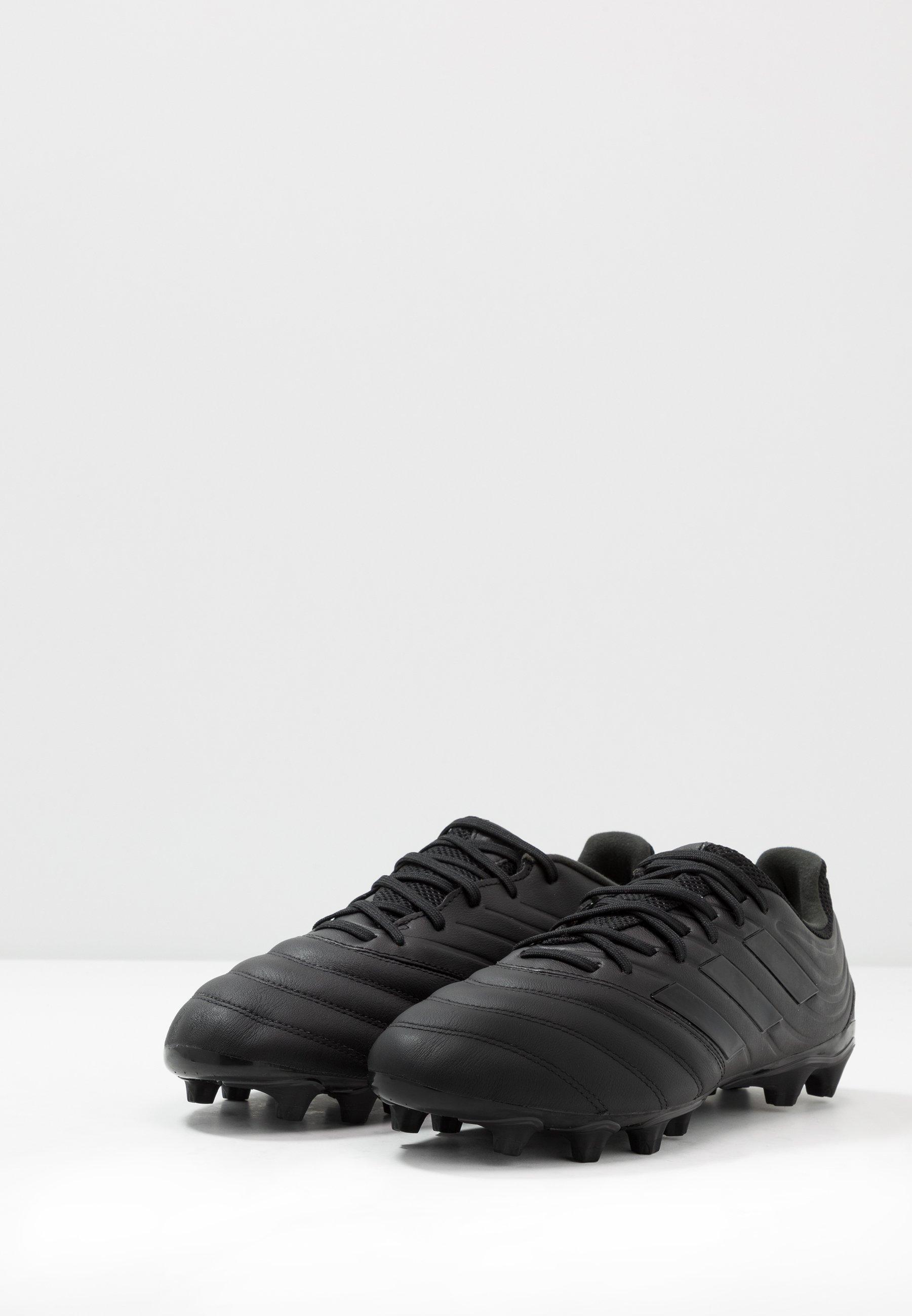 adidas Performance COPA 20.3 MG - Fotballsko - core black/solid grey