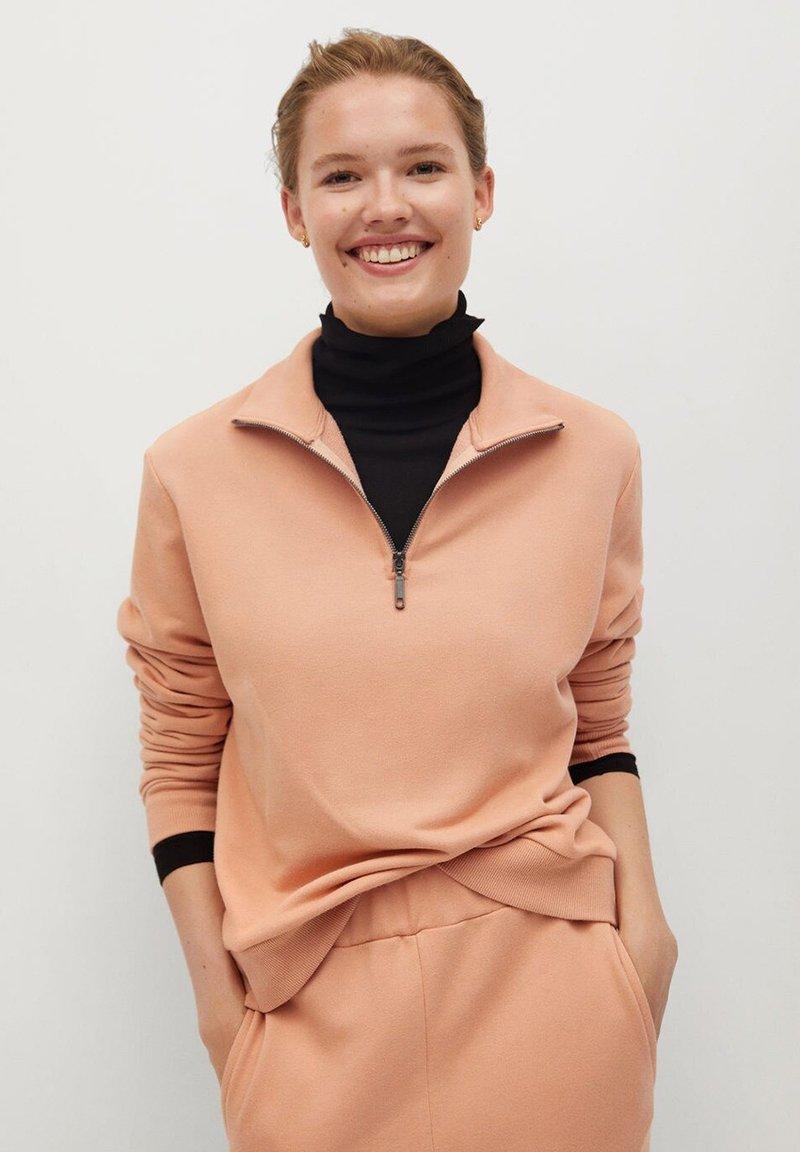 Mango - RIVI-A - Sweatshirt - růžová