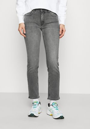 MID RISE SLIM ANKLE - Jean slim - grey