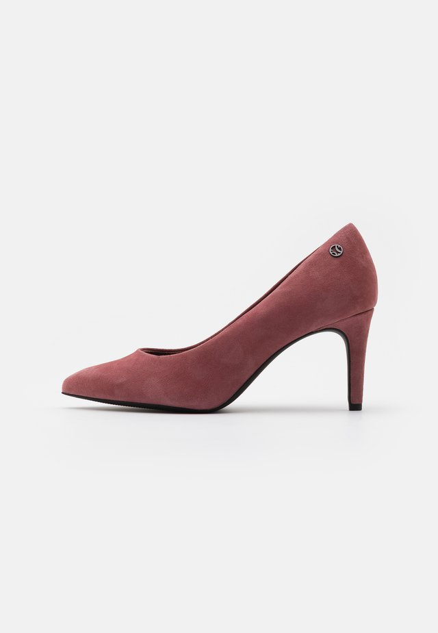 COURT SHOE - Czółenka - dark mauve