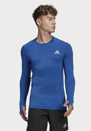 RUNNER LONG-SLEEVE TOP - Langarmshirt - blue