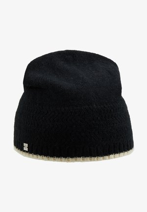 BLEND RACK  BEANIE - Beanie - black/cream