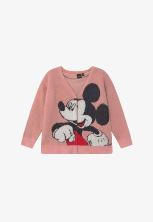 DISNEY MICKEY MOUSE - Cardigan - light pink