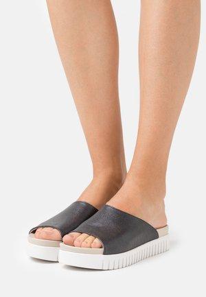 TULIP - Pantofle - black