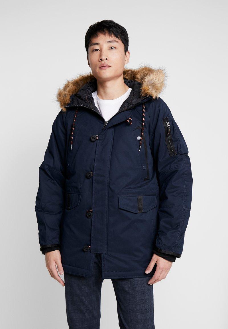 Superdry - Winter coat - deep navy