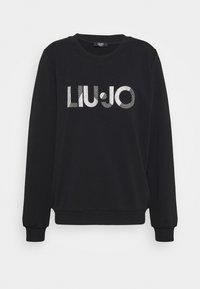 Liu Jo Jeans - FELPA CHIUSA - Sweatshirt - nero - 4