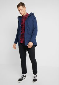 Produkt - PKTAKM PARKA TEDDY JACKET - Parka - dress blues - 1