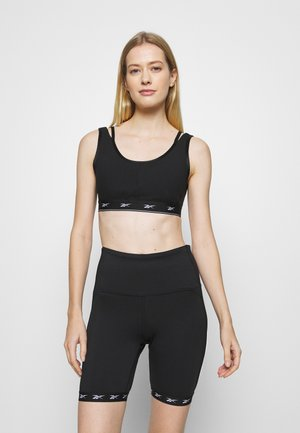 STRAPPY LOUNGE BRA - Sport-bh met light support - black