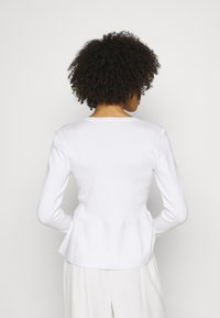 Esprit Collection - PEPLOM CARD - Cardigan - off white - 2