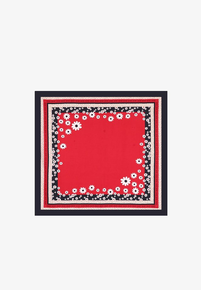 ECO-FRIENDLY FLORAL - Foulard - red