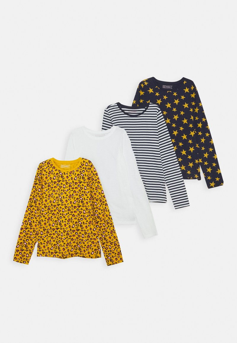 Friboo - 4 PACK - Long sleeved top - orche