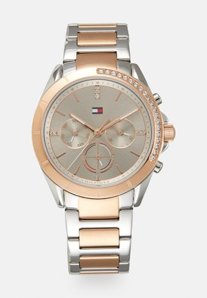 KENNEDY - Chronograph watch - silver-coloured/rose gold-coloured